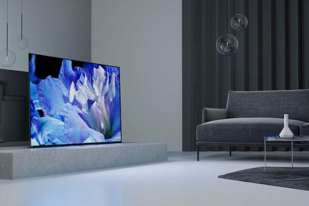 A8F: el espectacular televisor OLED de Sony sigue sin tener altavoces pero estrena un nuevo diseño