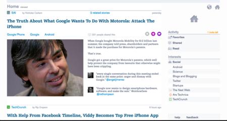 Prismatic, una revista web con los artículos que más te interesan