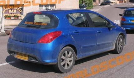 Peugeot 308, fotos espía sin camuflaje