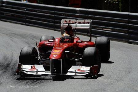 Fernando Alonso en el GP de Mónaco de F1 2011