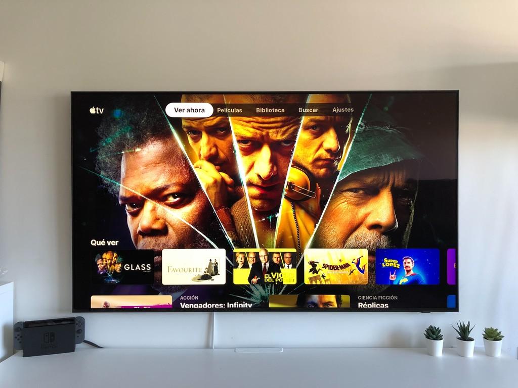 Así luce la nueva aplicación TV de Apple en un Smart TV Samsung