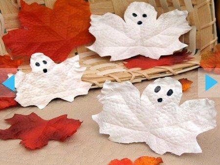 Adornos de fantasmas para Halloween