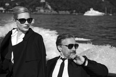 Cate Blanchett es la diva en blanco y negro de la exposición de Peter Lindberg para IWC