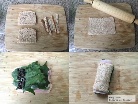 Rollitos Sandwich