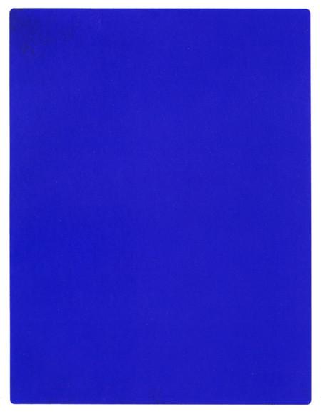 Azul Klein, de Yves Klein