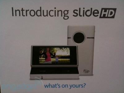 Flip Slide HD está lista para ponerte más difícil la elección de videocámara