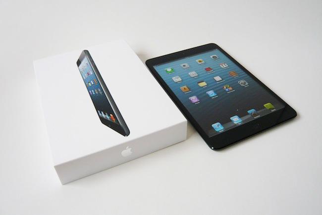 iPad mini caja