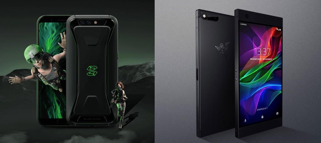 Black Shark Vs Razer Phone