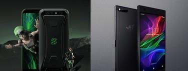 Xiaomi Black Shark vs Razer Phone: los dos móviles gaming frente a frente