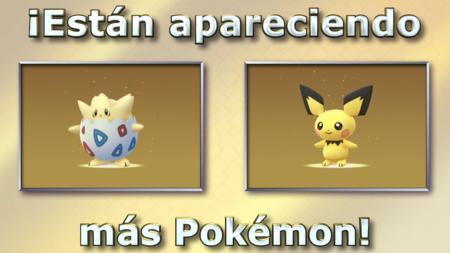 Pokemon Go Pichu Togepi