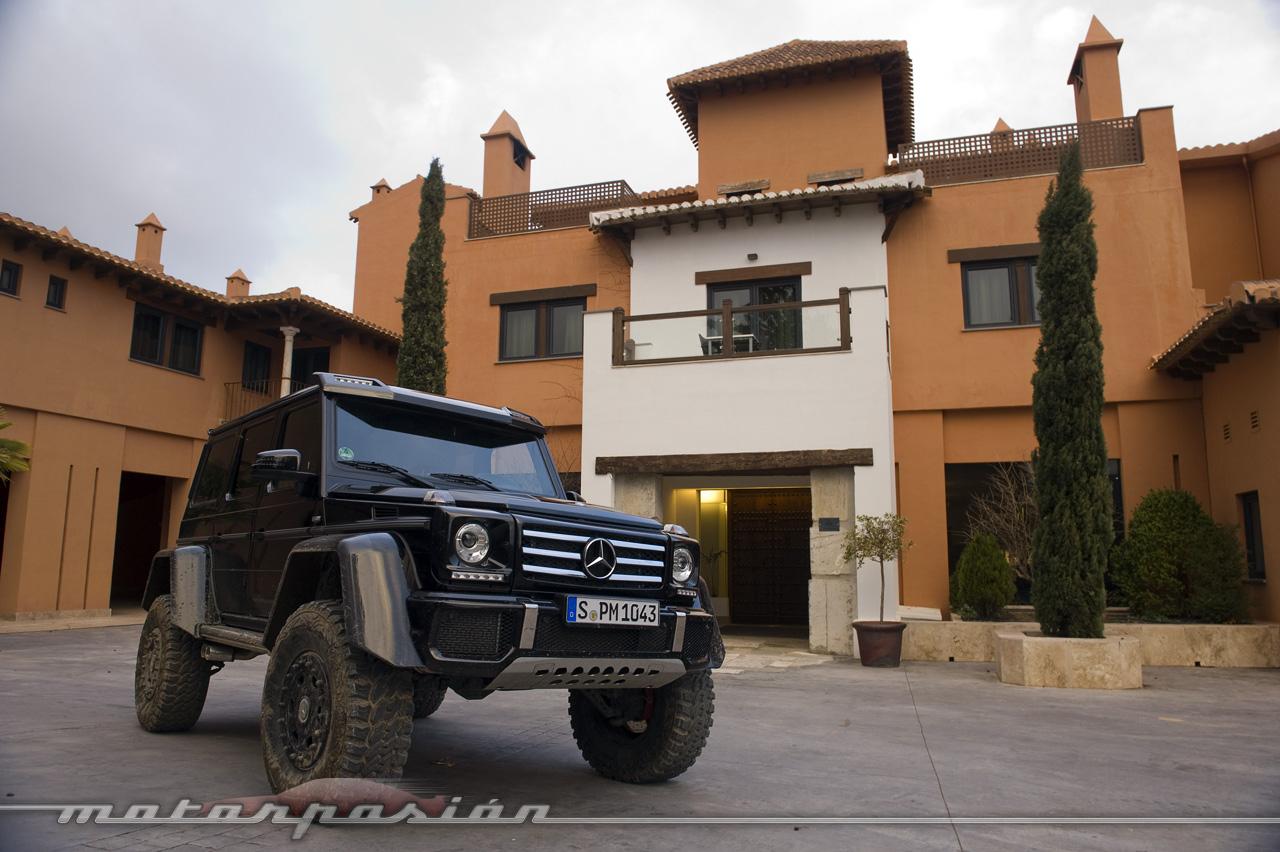 Foto de Mercedes-Benz G 500 4x4², toma de contacto (118/127)
