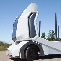 Este camión eléctrico y autónomo está pensado y diseñado para que no haya un conductor humano