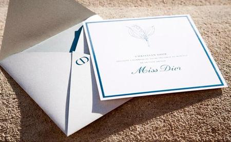 Miss Dior nos invita a su boda, ¡vayamos preparando pamelón!