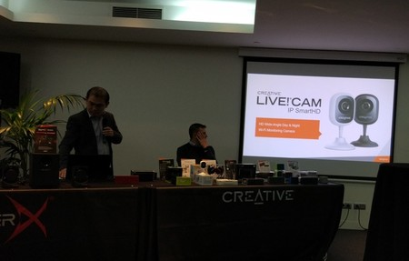 Nueva cámara de vigilancia de Creative Live!CAM