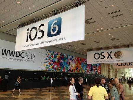 WWDC2012 banners recepción