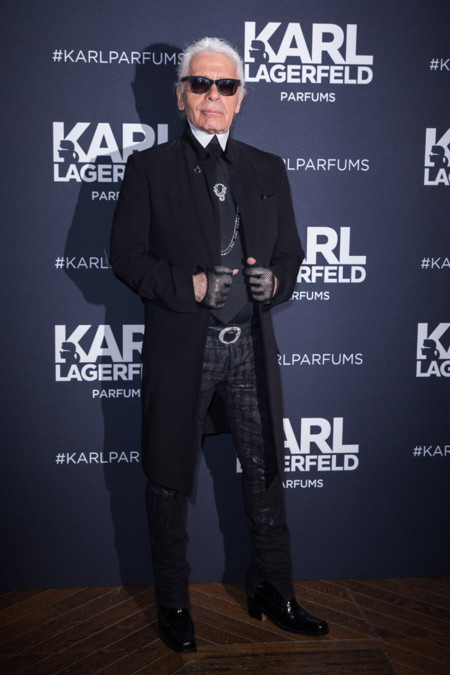 Karl Lagerfeld estilo excentricidades