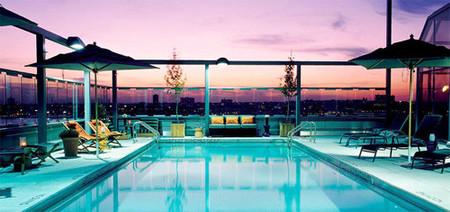 Hotel de lujo con vistas sobre Nueva York