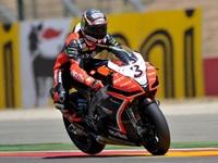 Superbikes Aragón 2012: Max Biaggi vence en una intensa lucha con Marco Melandri