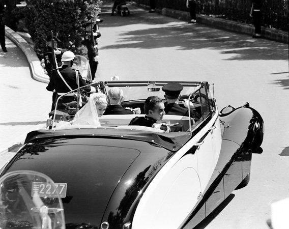 boda de Grace Kelly y Rainiero de Mónaco