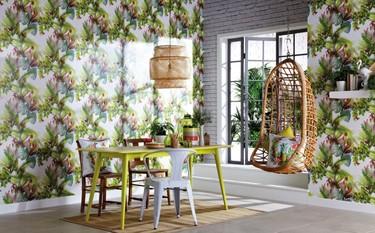 Cómo transformar tu casa para darle un toque tropical