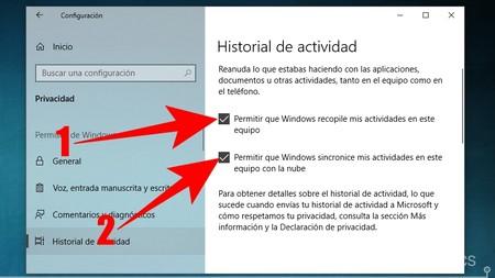 Activa Historial De Actividad