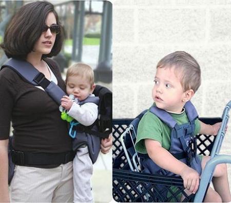 Baby Keeper, una mochila portabebés y algo más