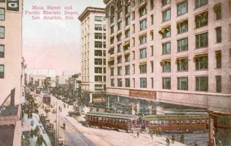 Tranvías de la Pacific Electric Railway- 1910