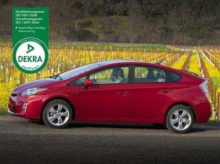 El Toyota Prius, de los más fiables para Dekra