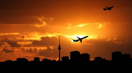 Tráfico aéreo mundial: 24 horas en 72 segundos