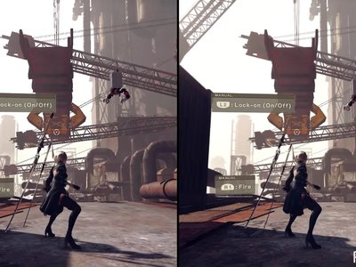 Un vídeo comparativo muestra las diferencias de jugar la demo de NieR: Automata en PS4 y PS4 Pro