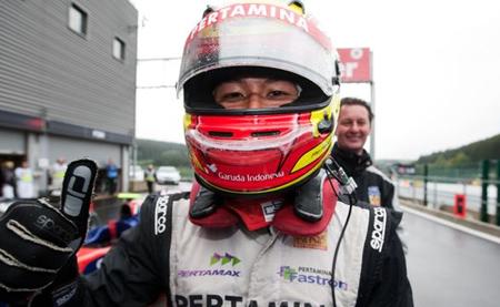 Rio Haryanto correrá en 2013 con Addax en la GP2