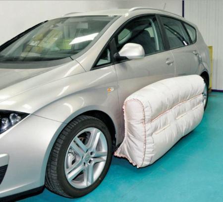 En unos años los coches dispondrán de airbags externos