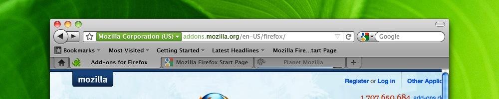Foto de Pruebas de la interfaz de Firefox 4 (1/6)