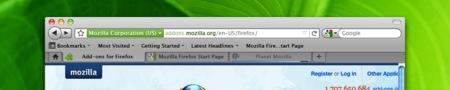 Pruebas de la interfaz de Firefox 4