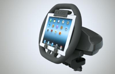 Kolos, el volante para colocar y jugar con tu iPad de forma más realista