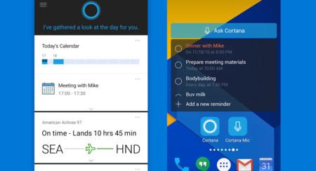 """Cortana responde a """"Hey Cortana"""" en Android de nuevo, pero solo desde la aplicación"""
