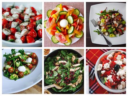 21 recetas de ensaladas internacionales muy refrescantes para viajar a través de la cocina comiendo saludable