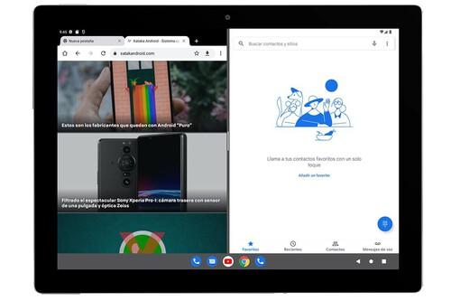 Probamos Android 12L: barra de tareas y pantalla dividida más accesible que nunca para hacer grande a Android