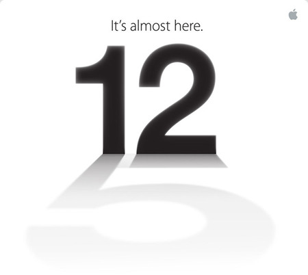 Apple confirma evento para el 12 de septiembre ¿iPhone 5 a la vista?
