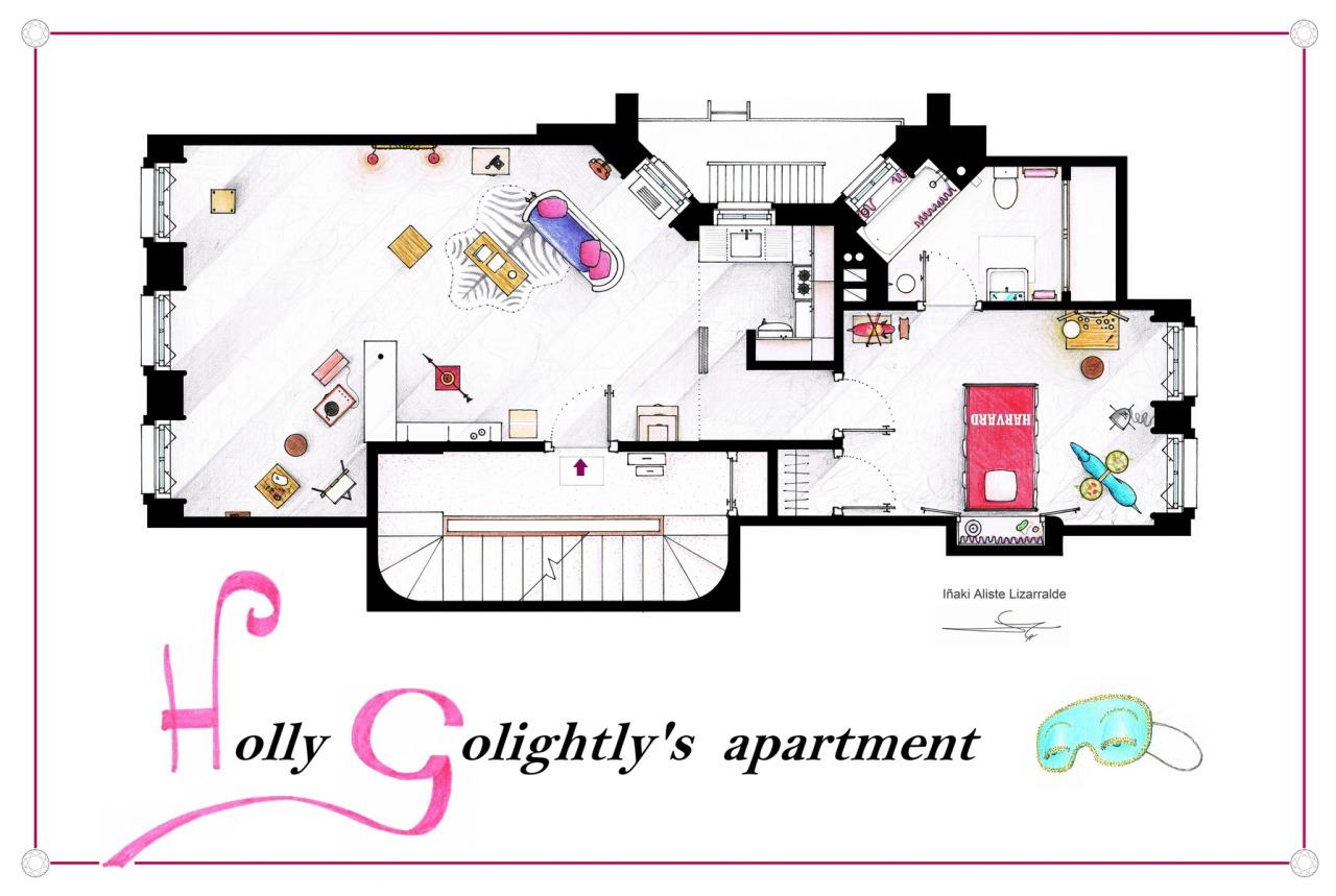 Foto de Planos de apartamentos de series de TV (8/17)