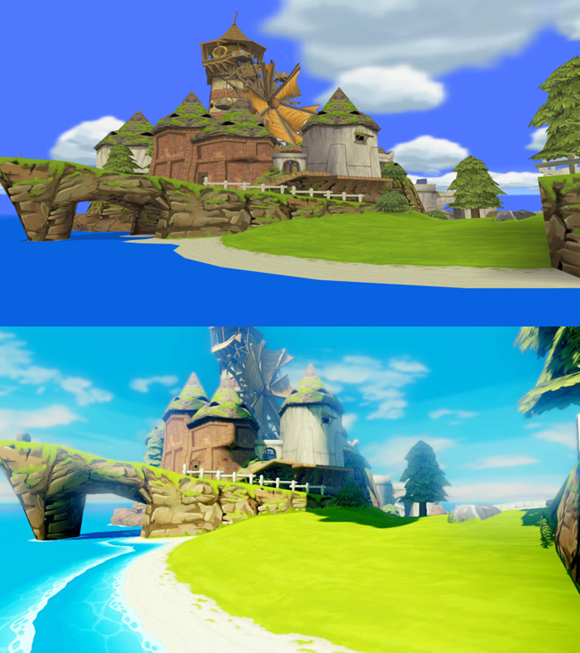 Foto de The Legend of Zelda: Wind Waker HD comparativa (3/5)