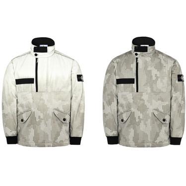 Este invierno solo querrás abrigarte con la chaqueta de Stone Island que cambia de diseño con el frío