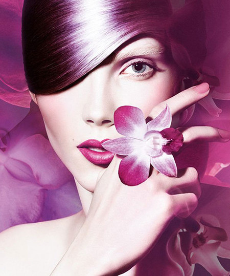 Sephora y la Universe Radiant Orchid Collection de la marca Pantone