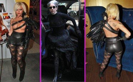 Tila Tequila y Lady Gaga apuestan por el negro