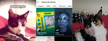 Cómo buscar y añadir más filtros y efectos de terceros en Instagram con su catálogo oculto