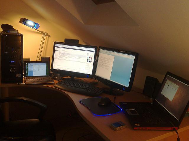 Configuración escritorio