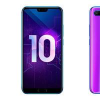 Honor 10: el mellizo económico del Huawei P20 llega a tope de potencia e inteligencia artificial