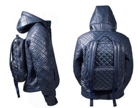 H=Jacket, la chaqueta con mochila incorporada