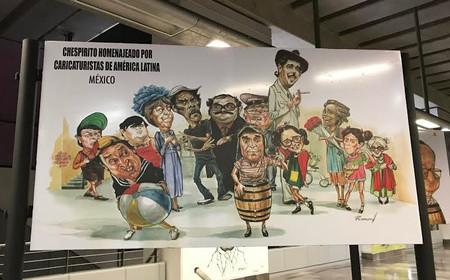 Zapata dará paso a las caricaturas en la Línea 12 del Metro de la Ciudad de México