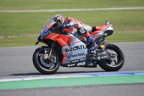 Andrea Dovizioso marca el ritmo en Motegi donde podría aguar la fiesta a Marc Márquez